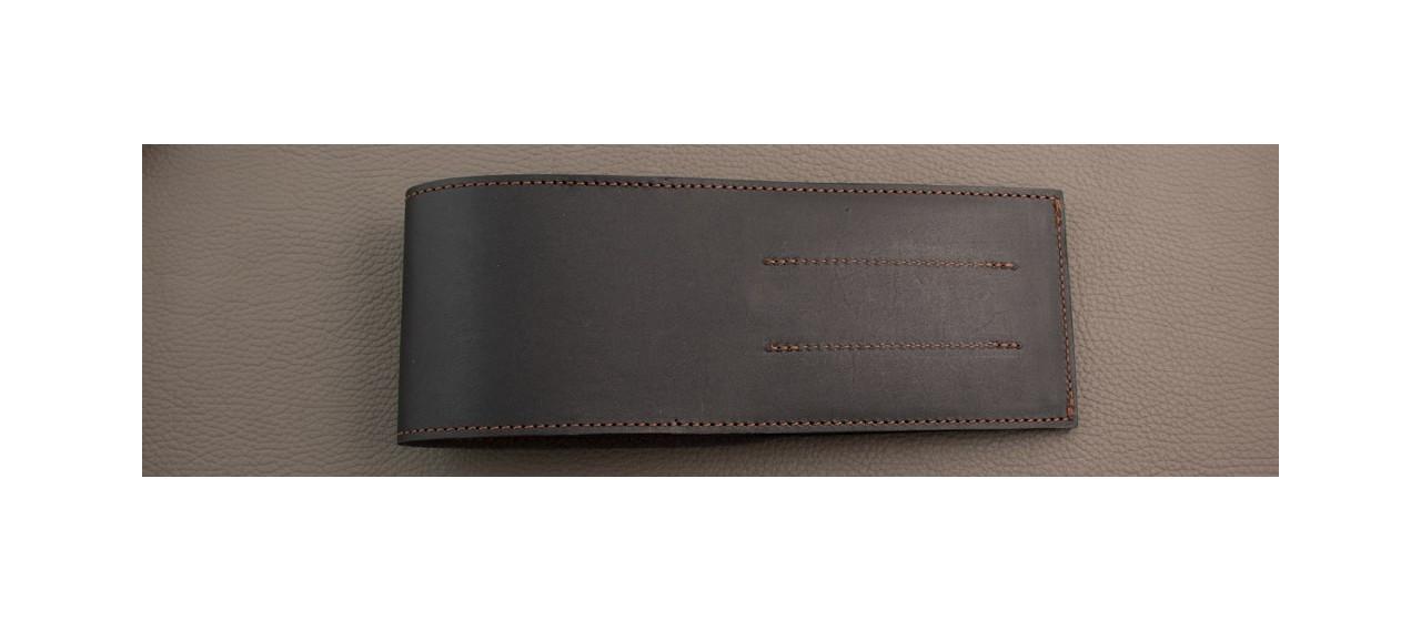 Leather case for 6 steak knives