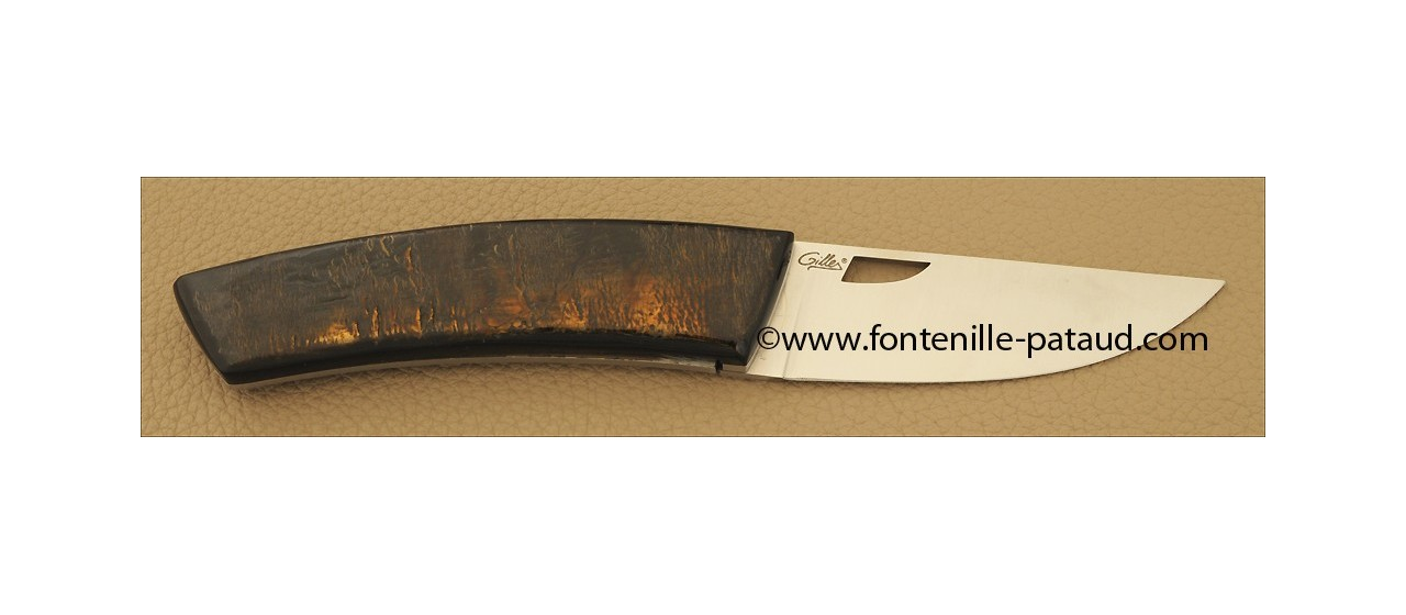 Couteau Le Thiers Artisanal Buffle brut