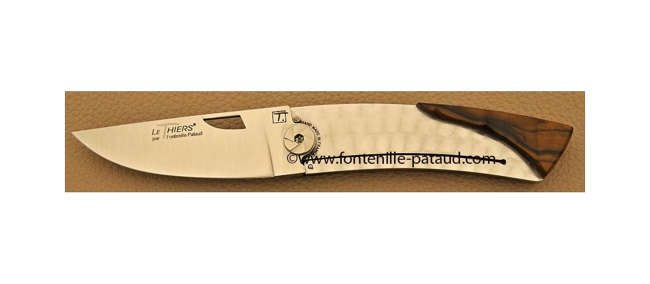 Couteau Le Thiers Bambou Noyer