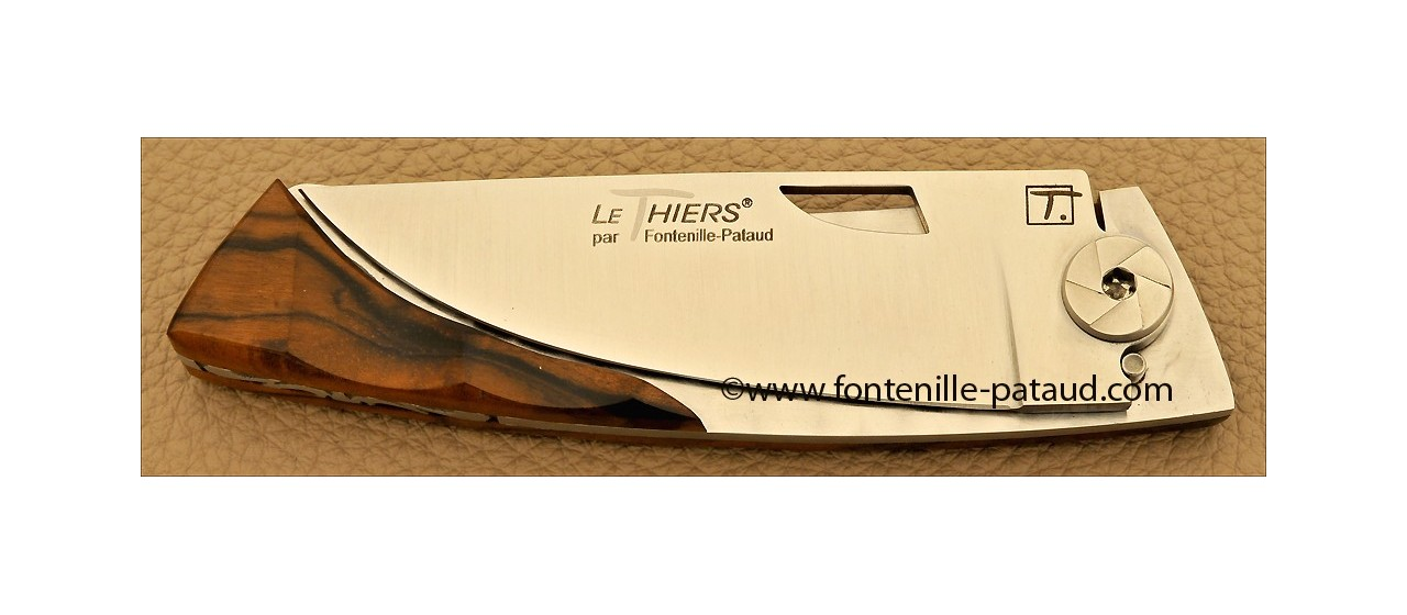 Le Thiers Knife Bamboo Range Walnut
