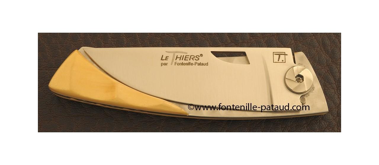 Le Thiers Knife Bamboo Range Boxwood