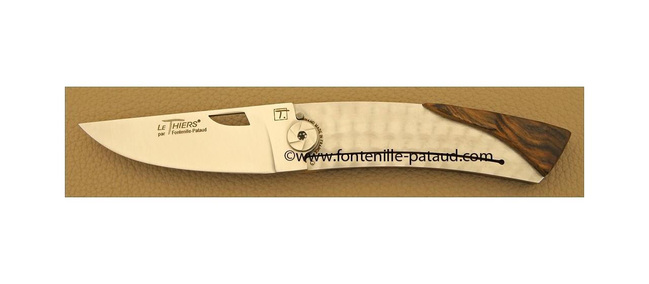 Couteau Le Thiers Bambou Pistachier