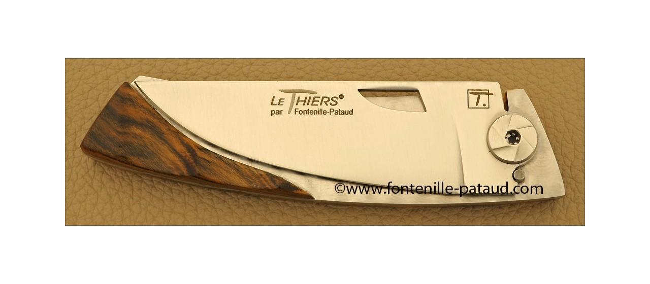 Le Thiers Knife Bamboo Range Pistachio wood