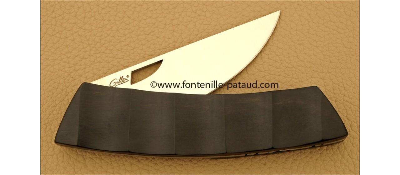 Le Thiers Knife Bamboo Range Real ebony