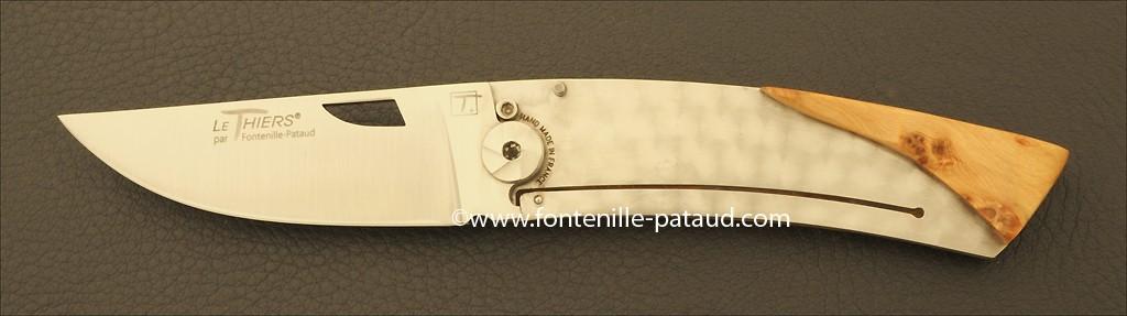 Couteau Le Thiers Bambou Genevrier