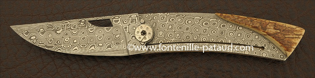 Le Thiers® Damascus Range Mammoth fossilized