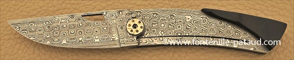 Couteau Le Thiers Damas Ebene