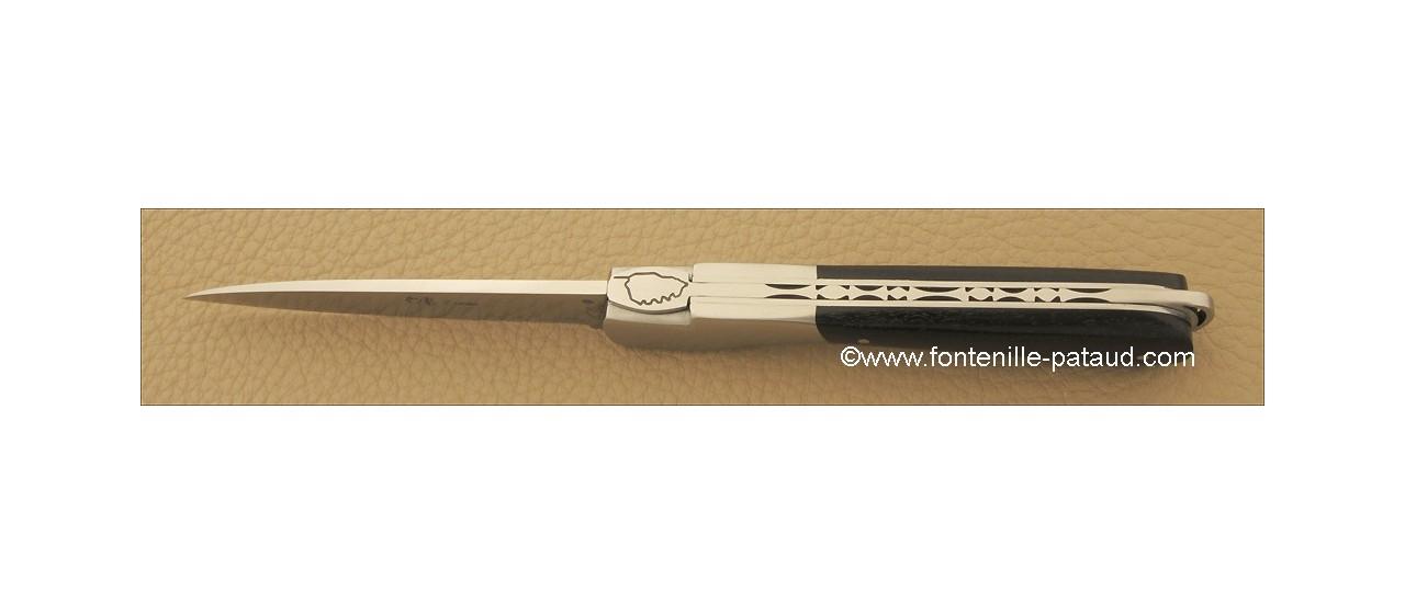 Corsican Sperone knife Classic Range Real ebony