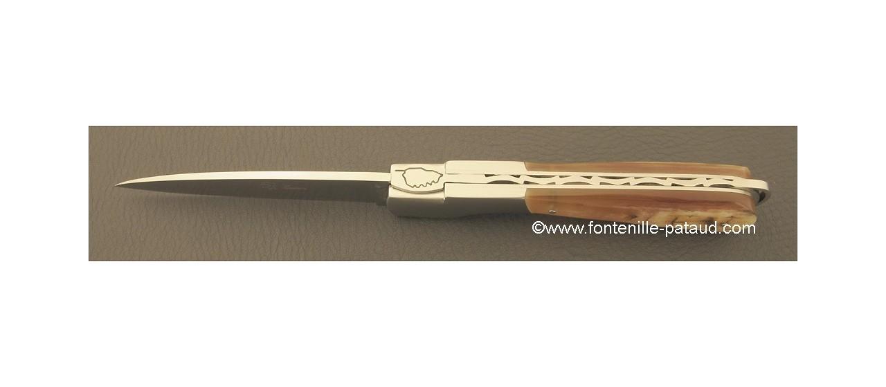 Corsican Sperone knife Classic Range Ram horn