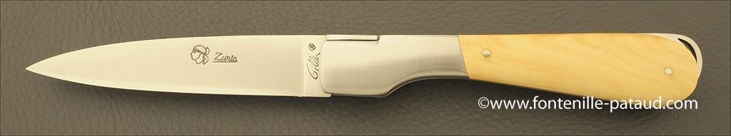 Corsican Sperone knife Classic Range Boxwood