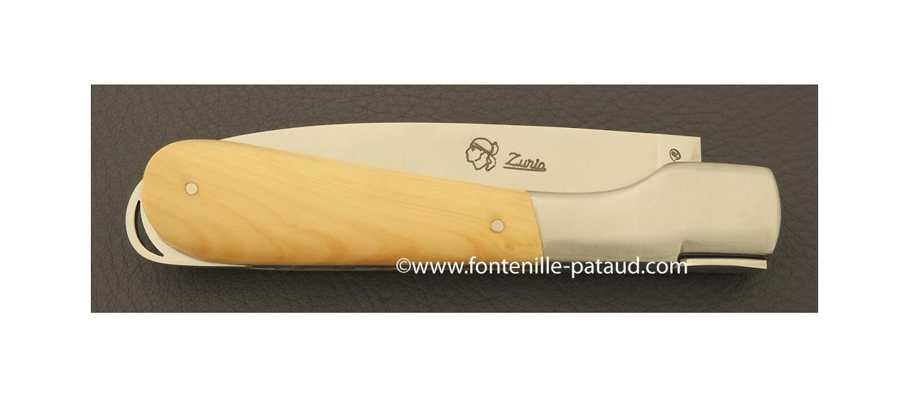 Couteau Sperone Corse Classique Buis