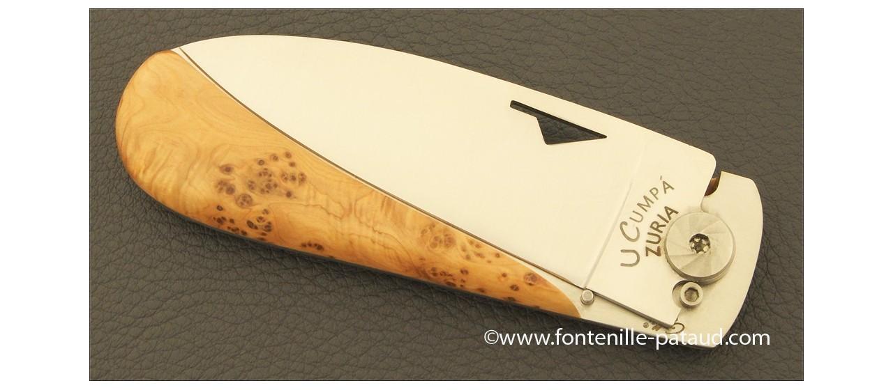 Corsican U Cumpa knife Classic range Juniper