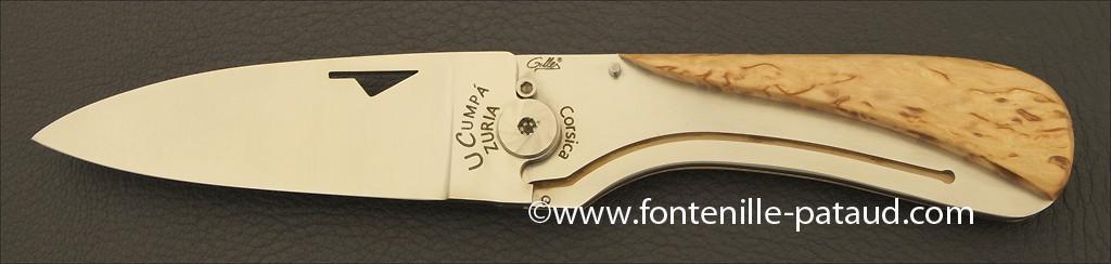 Couteau U Cumpa Corse Classique Bouleau