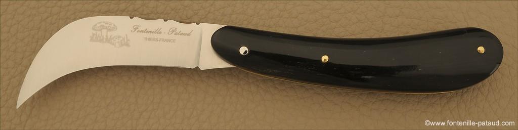 Couteaux à Champignon Pointe de corne noire