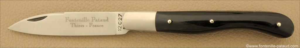 Aurillac shepherd's knife Buffalo horn tip