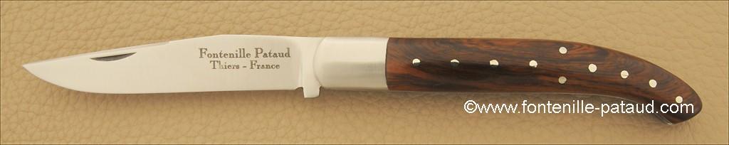 Basque knife Ironwood