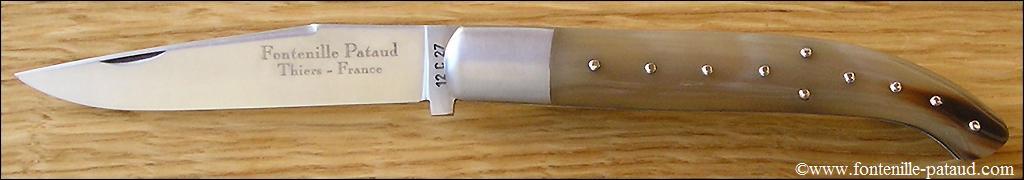 Basque knife Horn tip