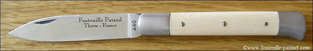 Roquefort shepherd's knife Real ivory