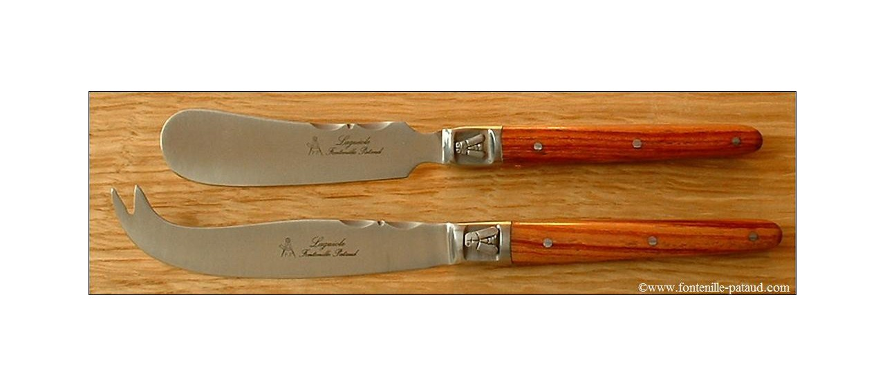 Laguiole Cheese & Butter Set Rosewood