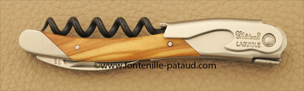 Sommelier Chateau® Laguiole Black Olivewood
