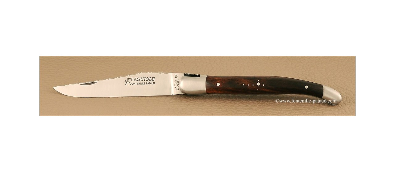 Laguiole knife stainless steel blade