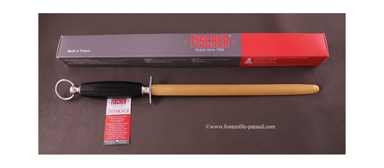 Fusil oval 30 cm Titanium 2 - Taillage fin