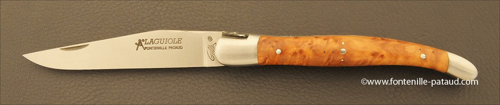 Real laguiole knife handmade by French knife maker