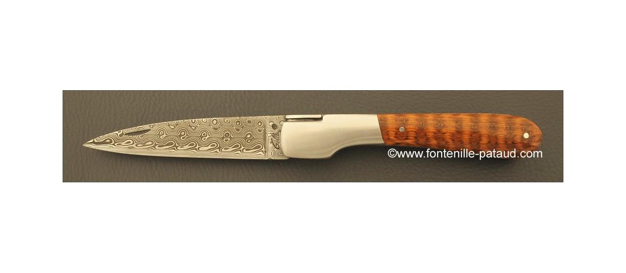 Corsican Vendetta knife Damascus Range Amourette