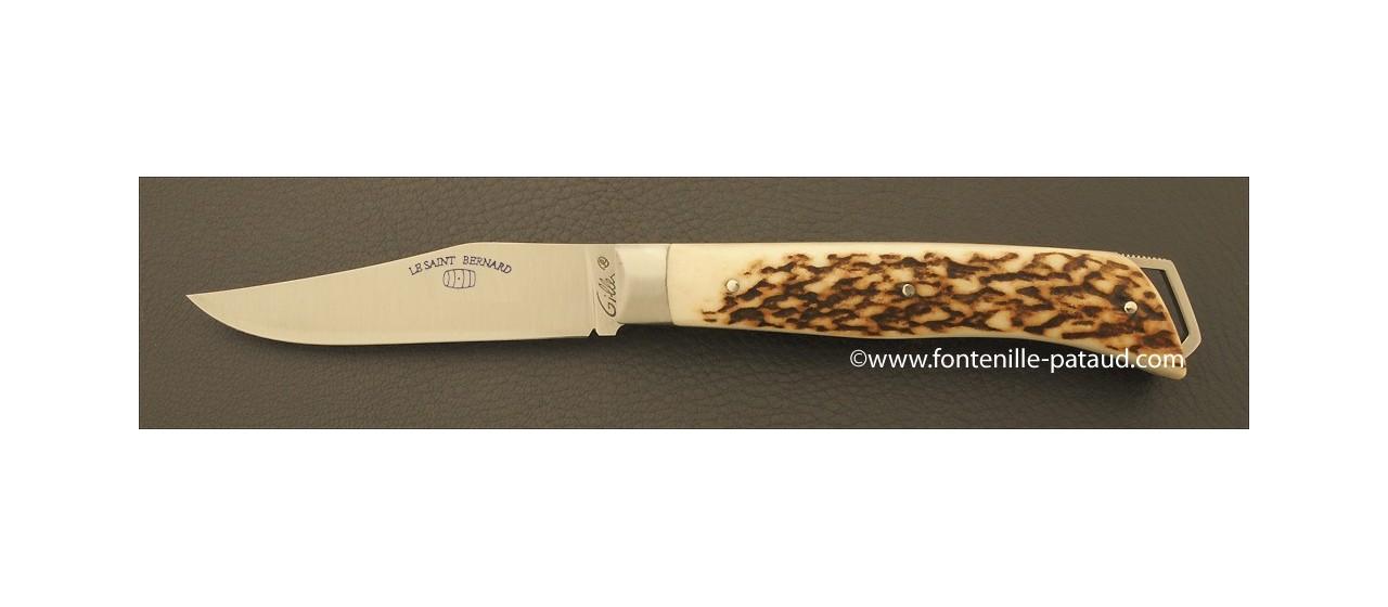 Le Saint-Bernard 11 cm Classique Bois de cerf