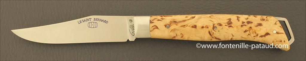 Le Saint-Bernard 11 cm Classic Range Curly birch