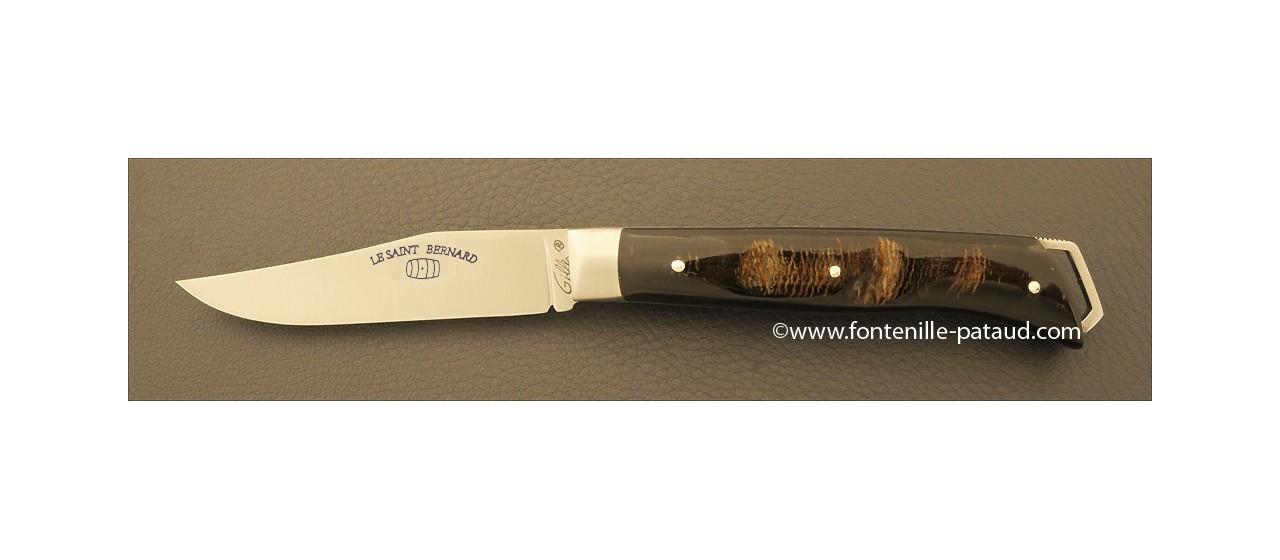 Le Saint-Bernard 11 cm Classique Buffle brut