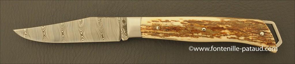 Le Saint-Bernard 11 cm Damascus Range Fossilized Mammoth Ivory