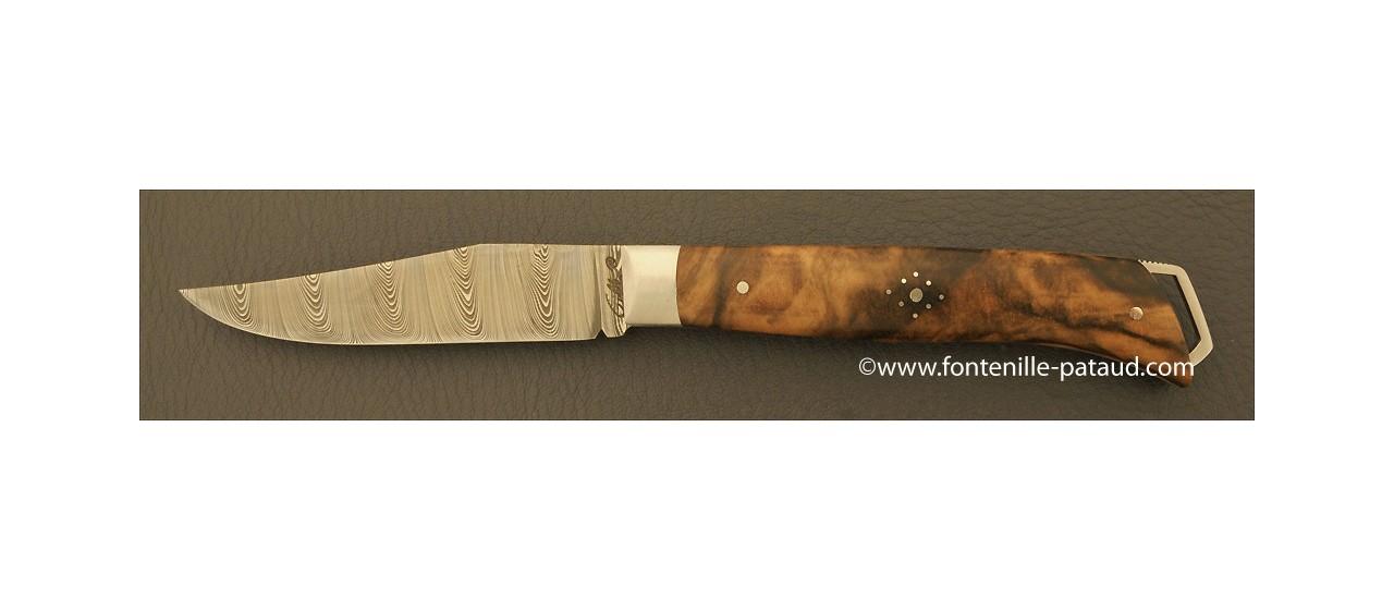Le Saint-Bernard 11 cm Damas Noyer