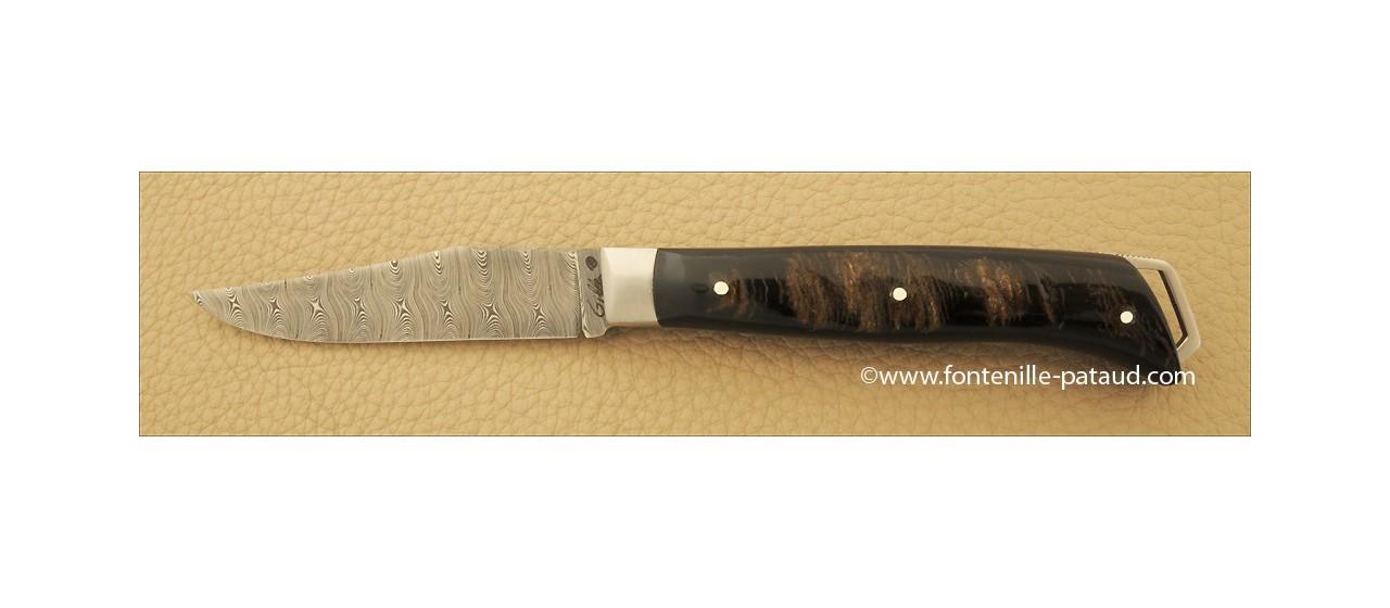 Le Saint-Bernard 11 cm Damas Buffle brut