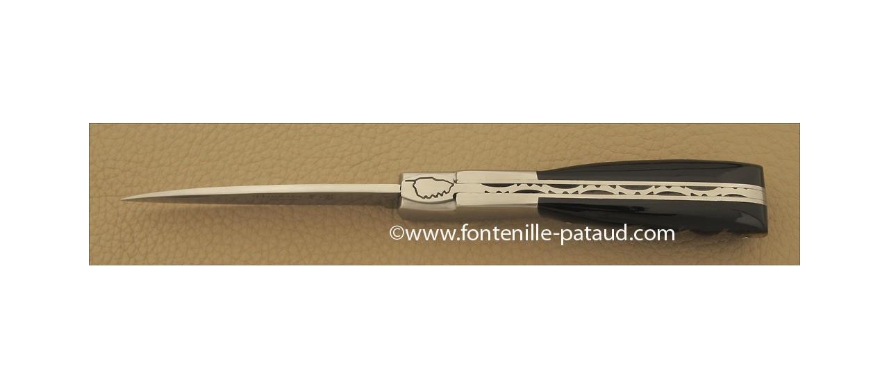 Couteau Corse vendetta traditionnelle buffle brut