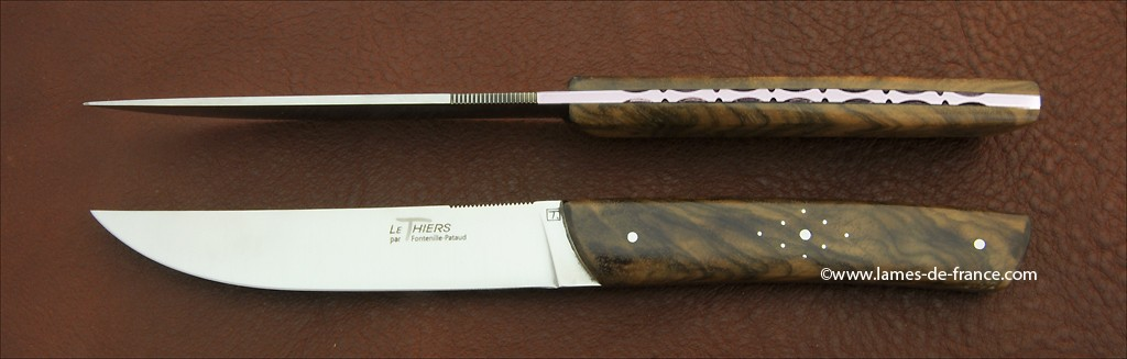 Set of 2 Le Thiers® knives Walnut
