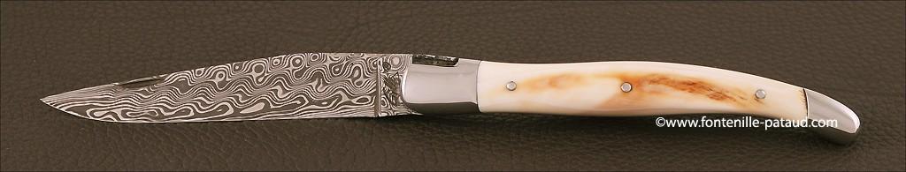 Laguiole collection ivoire et damas