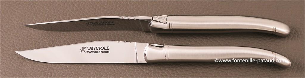 Boîte de 6 Laguiole de Table acier inoxydable