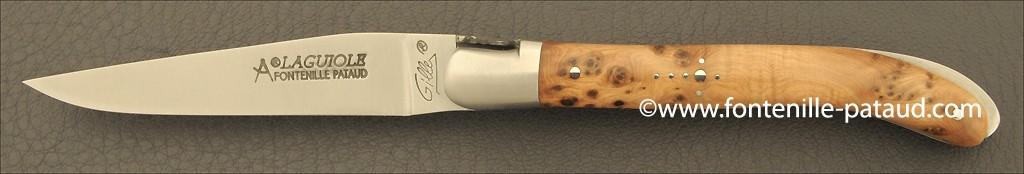 Laguiole Knife XS Classic Range Juniper Burl