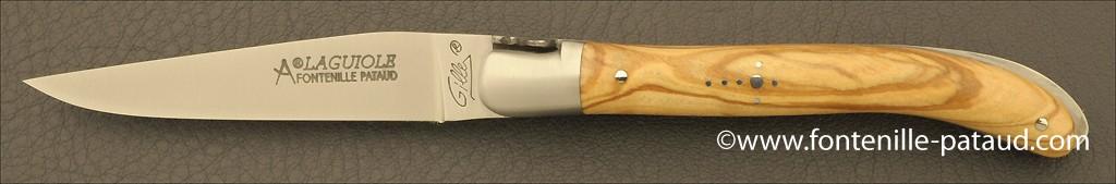 Laguiole Knife XS Classic Range Olivewood