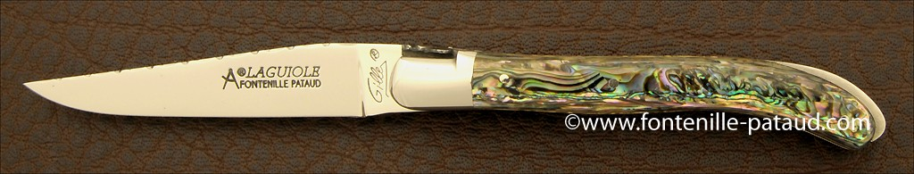 Laguiole XS Guilloché Range Mother of Pearl
