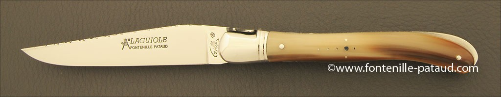 Handmade in France Laguiole knife