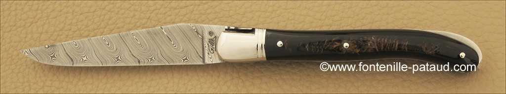 High quality laguiole knife buffalo handmade by experienced knife maker