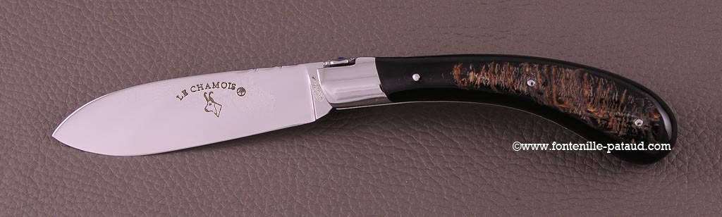 Le Chamois® 12 cm Guilloché Buffle brut