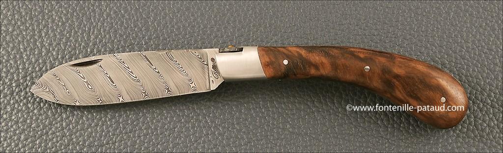 Le Chamois® 12 cm Damascus Range Walnut