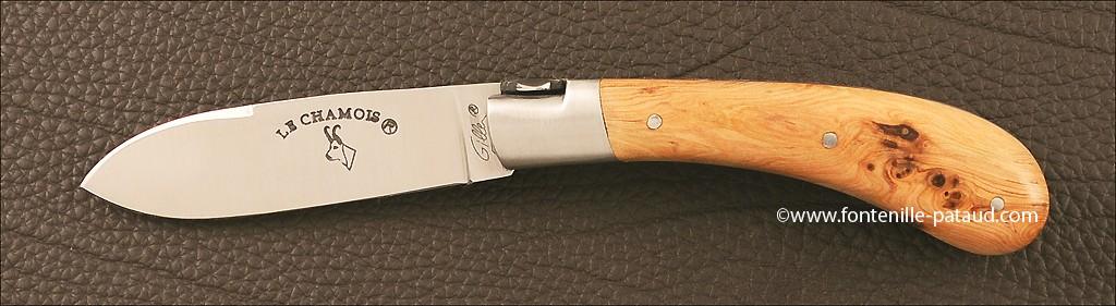 Le Chamois 10 cm Classic Range Juniper Burl