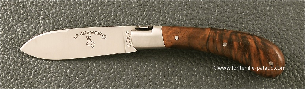 Le Chamois 10 cm Classic Range Walnut