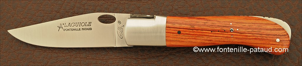 Laguiole Knife Gentleman Single Hand Opening Range Rosewood