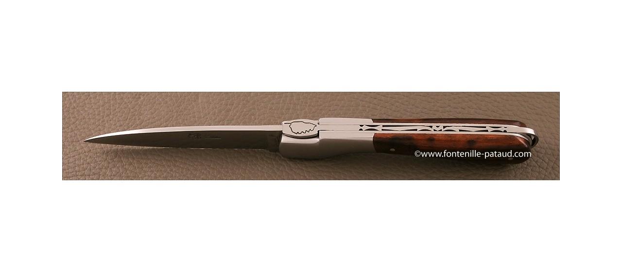 Corsican Sperone knife Classic Range Ironwood