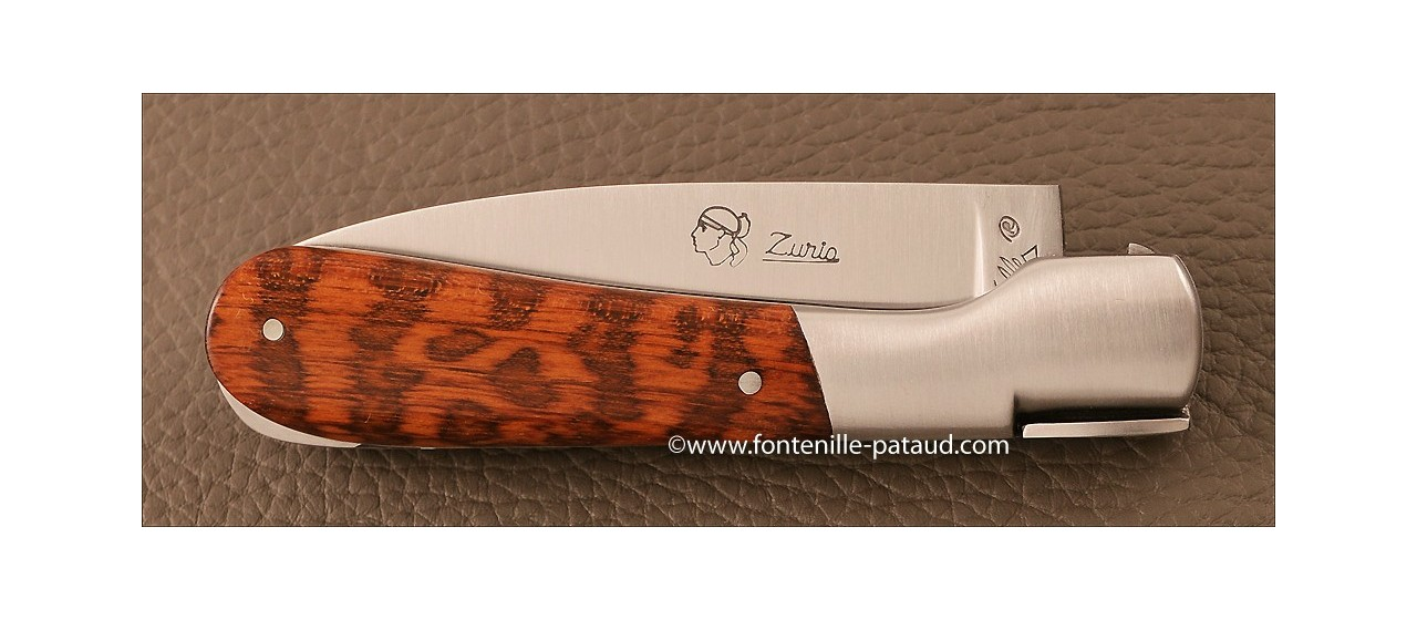 Couteau Pialincu Corse Classique Amourette